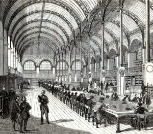 Bibliothèque_Sainte-Geneviève_1859